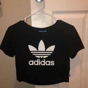 Adidas Crop Top 😜